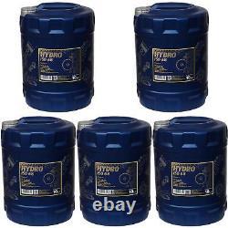 5x 10 Liter Original MANNOL Hydrauliköl Hydro ISO 68 Oil