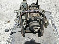 Bumper Mount Hydraulic Winch D4263 Char-lyn Eaton Motor HCI Prince Controls