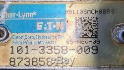 CASE IH CNH Eaton R & L Hydraulic Straw spreader Motors 87519076 & 87385810