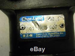 CHAR-LYNN EATON 101 1025 009 HYDRAULIC MOTOR 2-BOLT FLANGE TYPE NOS CONDITION
