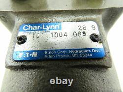 Char-Lynn 101 1004 000 Eaton Hydraulic Motor 4 Bolt 28.9 1 Shaft