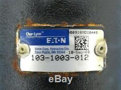 Char-Lynn Eaton 103-1003-012 Hydraulic Motor Motor 5.9Cu. In/Rev Displacement