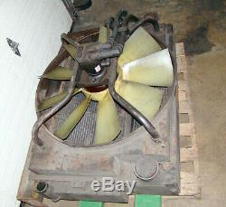 City BUS Truck Cooler Radiator with FAN and EATON 74315 Hydraulic Motor PUMP