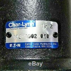 EATON CHAR-LYNN 103-1002-010 HYDRAULIC MOTOR, 4.6 cu in/rev, 4 BOLT