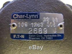 EATON CHAR-LYNN 109 1263 006 1091263006 HYDRAULIC MOTOR NEW