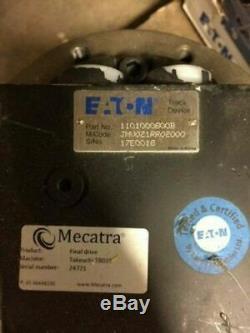 Eaton 1101000800B Hydraulic JVM Series Track Motor Drive JMV021RR02000 GUARANTEE