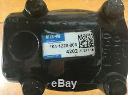 Eaton Char-Lynn 2000 Series Motor 104-1228-006 Used 104-1228 24.03 in3/rev