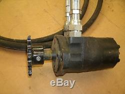 Eaton Char Lynn Orbital Motor New With Hoses 2012 Orbit