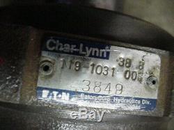 Eaton Char-lynn charlynn 10,000 series hydraulic motor 119-1031-006