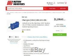 Eaton Hydraulic Motor 109-1101-006 (CHAR-LYNN)
