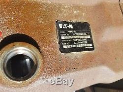 Eaton Hydraulic Motor Hma280 And A Hma 210 Back To Back