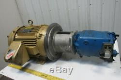 Eaton PVM141ER Piston Hydraulic Pump 40Hp Electric Motor 230/460V 4000PSI 63GPM