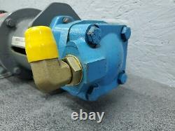 Eaton Vickers V20 Series Vane Pump V20 1S6S 1A11 with 1/2HP Unimount 3PH Motor