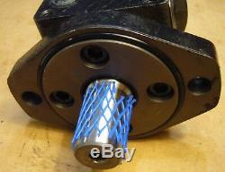 Fluidyne Hydraulic Motor WF-103-1544 1 Shaft & Eaton Manifold Block 123-1007