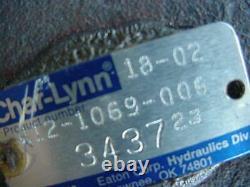 GENUINE Eaton Char-lynn charlynn 6,000 series hydraulic motor 112-1069-006
