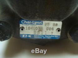Genuine Eaton Char-Lynn Model 104-1035-006 Hydraulic Motor 14T Spline Shaft