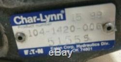 Genuine Eaton Char-lynn 104-1420-006 2000 Series Hydraulic Motor 489.0 Cm3/r