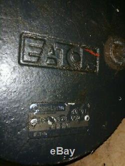 Hydraulic Motor Bobcat 753 Eaton 1610028002