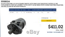 Hydraulic, Motor, Eaton, 103-1038-010, Not A Copy, New