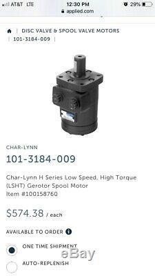 Hydraulic Motor for Char-Lynn 101-3184-009 Eaton Motor