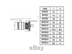 Hydraulic Orbital Motor BMR / Eaton'S', Parker'TC', White'WR, WD, Danfoss OMR