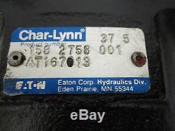 John Deere Hydraulic Motor At167013 Eaton Char-lynn