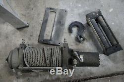Mile Marker Hydraulic Winch 2-Speed 10,800 lbs. Capacity Char-Lynn Eaton Motor