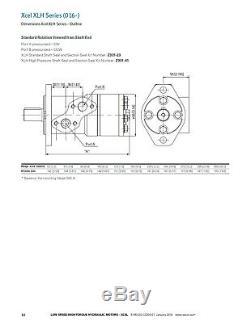 Motore Idraulico marca Eaton modello 016-0015-002 MCH200AA01AA110000A000B00B