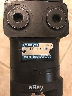 NEW Char-Lynn Eaton 101-2018-009 H Series LSHT Hydraulic Motor 4 Bolt 96 cm3/r