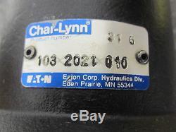 NEW EATON CHAR-LYNN HYDRAULIC MOTOR # 103-2021-010