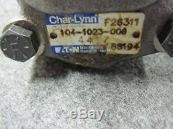 NEW EATON CHAR-LYNN HYDRAULIC MOTOR # 104-1023-006