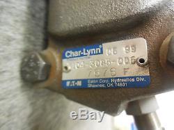 NEW EATON CHAR-LYNN HYDRAULIC MOTOR # 104-3085-006