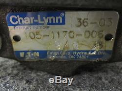 NEW EATON CHAR-LYNN HYDRAULIC MOTOR # 105-1170-006