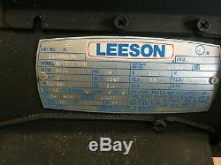 NEW Eaton Aeroquip FT1023 Hydraulic Hose Cutter LEESON motor Heavy Duty