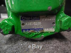 NEW JOHN DEERE HYDRAULIC MOTOR # AXE18535 EATON CHAR-LYNN
