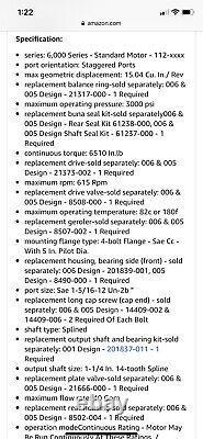 New $5k Eaton Charlynn 112-1158-006 Hydraulic Motor 2019 Model 9526 8j071