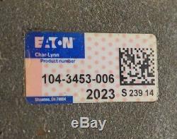 New Eaton / Char Lynn 104-3453-006 Hydraulic Motor 1043453006