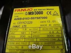 New Fanuc Servo motor A06B-0163-B575#7000