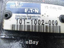 New GENUINE Eaton Char-lynn charlynn hydraulic motor 101-1002-009 HM102