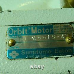 Sumitomo Eaton Hydraulic Orbit Motor J-A6H1S-A, Used, SHIPS SAME DAY, WARRANTY