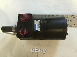 USED EATON 101-1272-009 HYDRAULIC MOTOR 1 SHAFT DIAMETER, 1/2npt, BOXZF