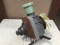 Walker MTGHS Zero Turn Mower OEM Hydraulic Pump Motor Right Side CCW Eaton